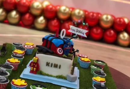 Kimi10岁生日,林志颖在家中为儿子开派对庆生,游泳池超豪华