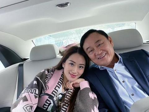 泰国前总理他信现身迪拜,与小女儿一家开心度假