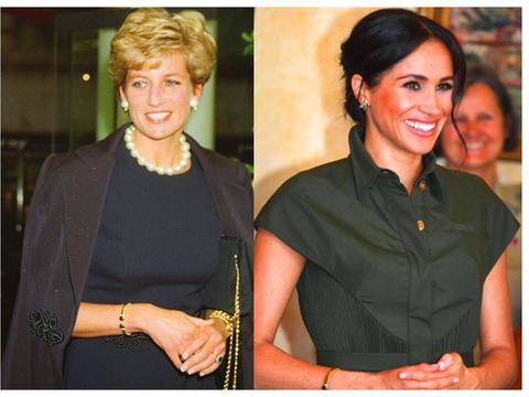 为啥女王禁止梅根佩戴王室珠宝?戴安娜王妃留给哈里手镯照片曝光