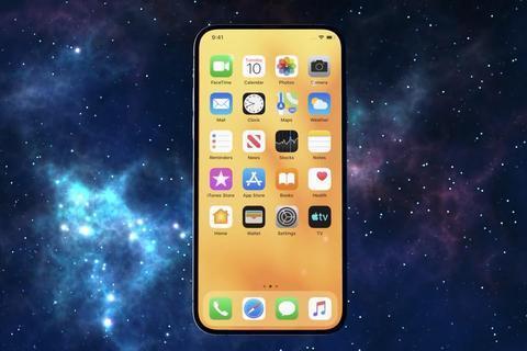 iPhone12概念图:后置浴霸三摄依然存在,刘海屏没了有屏下指纹
