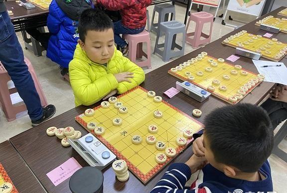 2020济南市市中区少儿象棋等级赛落幕