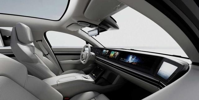索尼正式进驻汽车市场,推出旗下首款VISION-S概念车