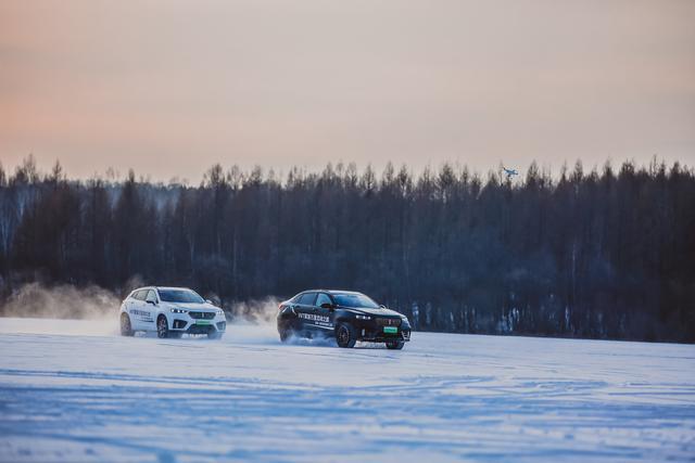 零下30°,一键冷启动、蛇形绕桩、冰雪圆环、冰雪越野...