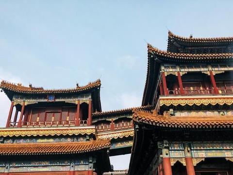 雪后雍和宫,尽显中国古建筑之美