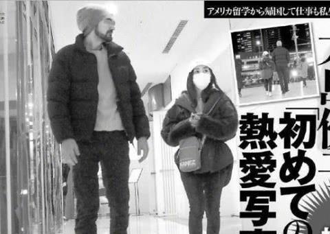 AKB48前成员大岛优子分手,盘点娱乐圈跨国恋