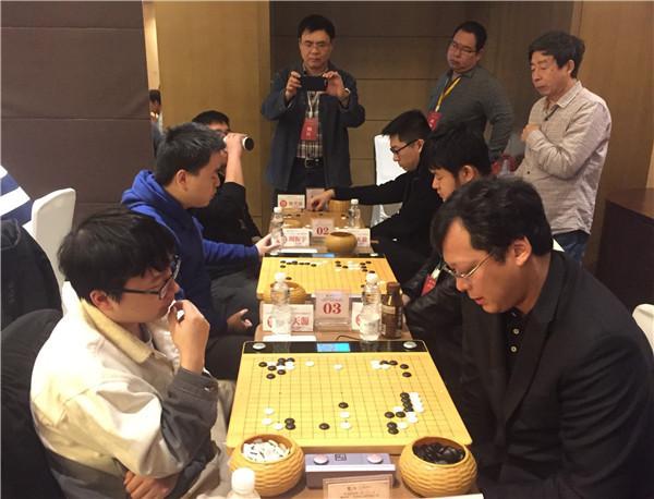 全国业余围棋大赛战罢11轮 新民清一队卫冕形势严峻