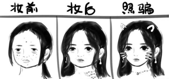 素人化妆和明星化妆的区别,只需一点改变,你的妆容也可以很高级
