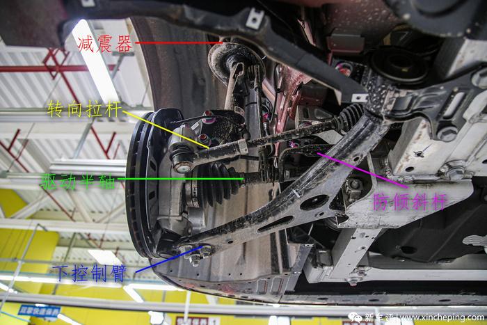 广汽丰田iA5长测(8):不到17万的车用上了全铝副车架?