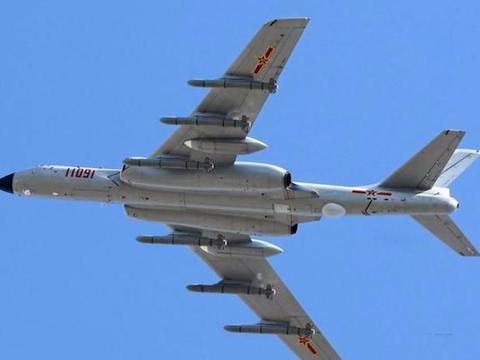 打击半径达6000公里,轰-6K算得上战略轰炸机吗?
