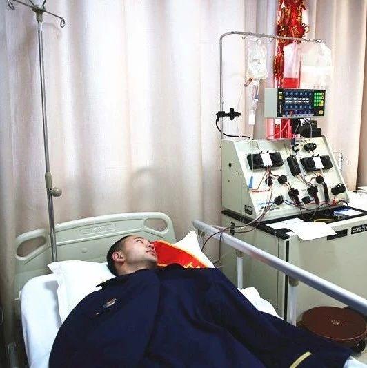 九江95后消防员捐献造血干细胞 挽救白血病患儿