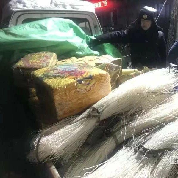 粮油店里、粉条车上偷偷卖,查!道外区多部门联合查处销售冥纸冥币