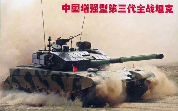 沙场大点兵,中国99G式主战坦克身怀绝技傲视群雄