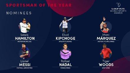 劳伦斯奖候选:梅西利物浦获最佳男运动员、最佳团队提名