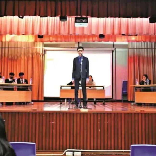 辣眼睛!这个辩论赛竟这样煽动香港中学生