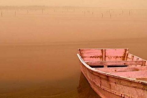 地球撩神塞内加尔,粉色玫瑰湖,大自然的少女心