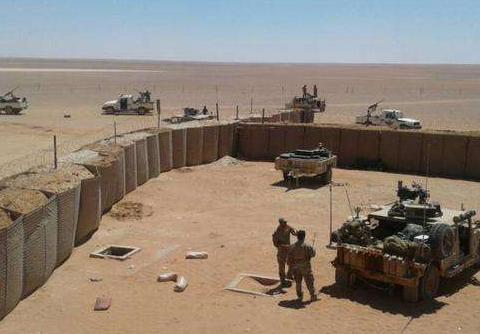 巴格达以北一军事基地2枚火箭弹袭击,没有人员伤亡的报告