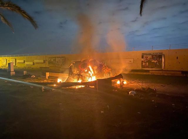 巴格达机场定点清除!伊朗多名高级代理人死亡,中东之虎或也被杀