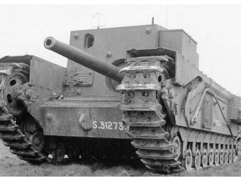 堪称最丑坦克歼击车,为反登陆而生的丘吉尔GC,与帅根本不沾边