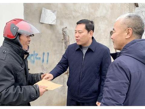 """郸城县公安局带头开展""""迎新春、送温暖""""活动"""