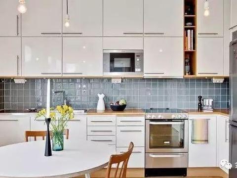 厨房装修8大经验总结,从水电路到橱柜都说到了!