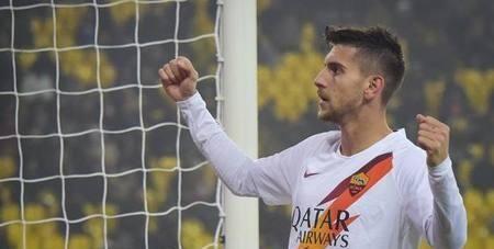 意杯:佩莱格里尼梅开二度,罗马客场2-0帕尔马晋级