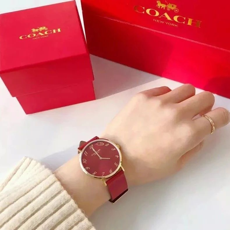 COACH新年限定腕表!美到窒息,没有女生能拒绝