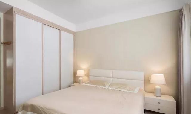 114平的简约风三房,素雅的色彩搭配,营造舒适感