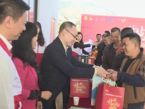 潮州爱心驿站关爱春节返乡务工人员公益活动,帮助他们顺利回家