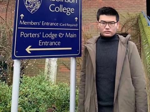 又见学霸!绵阳东辰高中学生马林龙被世界名校剑桥大学录取!