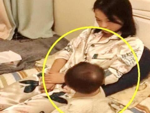 宝宝第一天断奶,上一幕妈妈心疼想哭,下一幕画面妈妈笑出声来