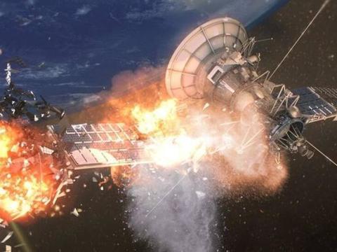 外太空发生爆炸,美方确认卫星遭解体,到底是谁胆敢摧毁