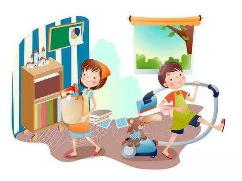 寒假,儿童做家务年龄对照表(3-7岁)转给家长!