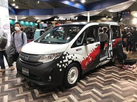 本田新款多用途MPV,内部能放置轮椅、自行车,配2.0L混动系统