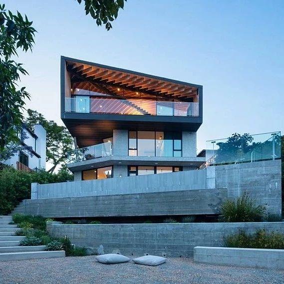 洛杉矶343㎡现代风独栋建筑设计