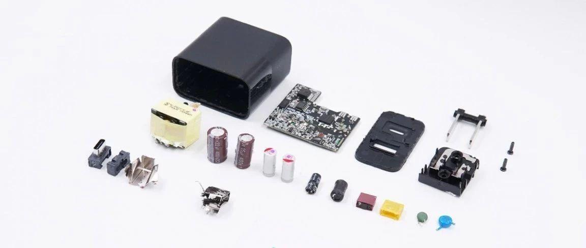 拆解报告:ZMI紫米30W 1A1C USB PD快充充电器HA722