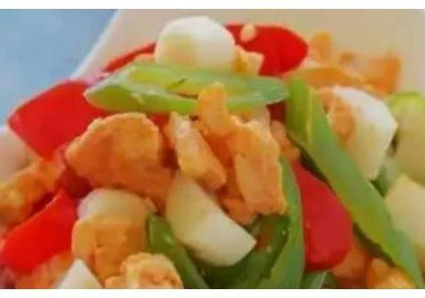 精选美食:肉炒香干、山药烧鸡丁、鱼香豆腐、香辣素鸡