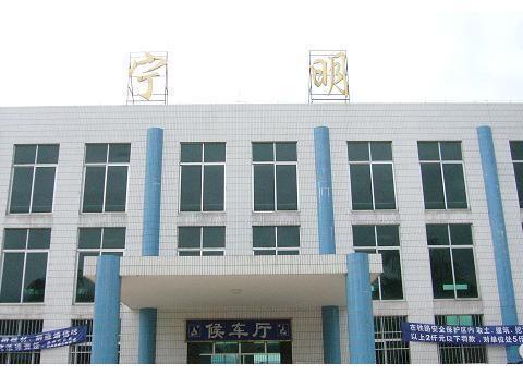 连接中国-东盟自由贸易区的结合部——宁明火车站