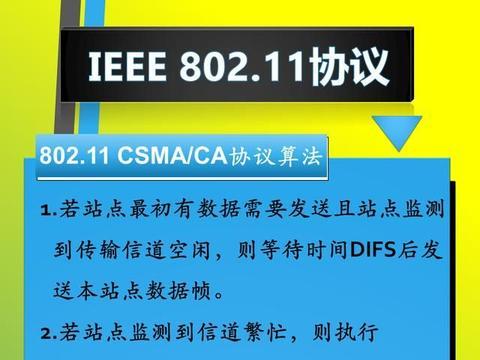图说IEEE 802.11无线网络重点:标准、模式、加密机制、协议算法
