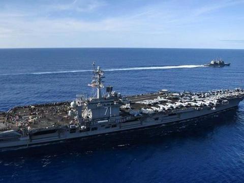 一夜之间,太平洋上出现3支美国航母战斗群,对外发出明确信号