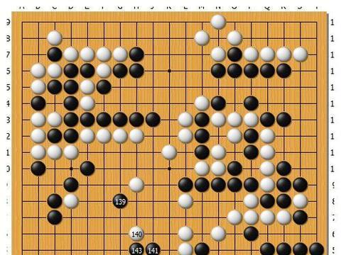 """井山的""""天元之顶"""":日本棋圣战挑战赛七番棋首局胜负处解析"""