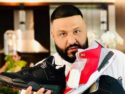 鞋王DJ Khaled上脚稀有 OVO 联名!还一口气晒了3双未市售款……