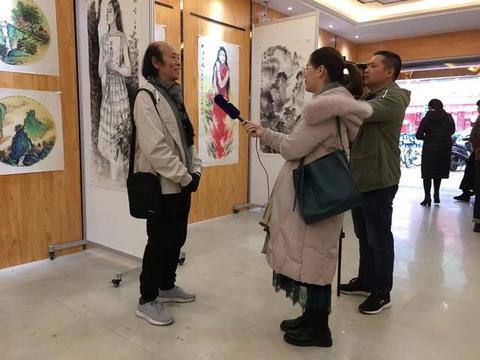 韦虹作品广西行第三回特邀展1月18日在宾阳开展 水墨画展现诗意美