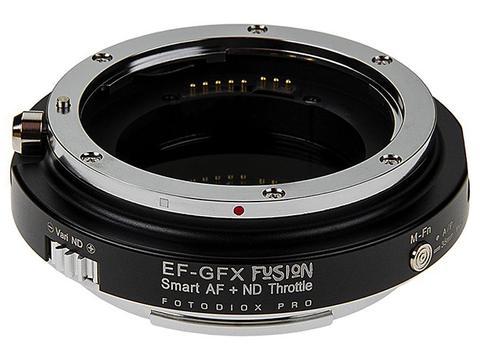Fotodiox推出富士GFX转接环 内置可变ND滤镜