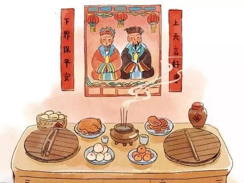 腊月廿四 祭灶神、吃灶糖、剪窗花、扫房子!灶王爷的传说你都知