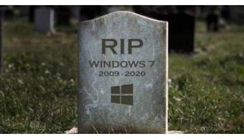 微软正式停止Win7系统更新 推特网友花式祭奠