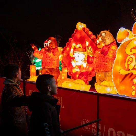 春节将至‖贵州醇景区梦幻迎春恐龙灯会邀您一起共迎新春