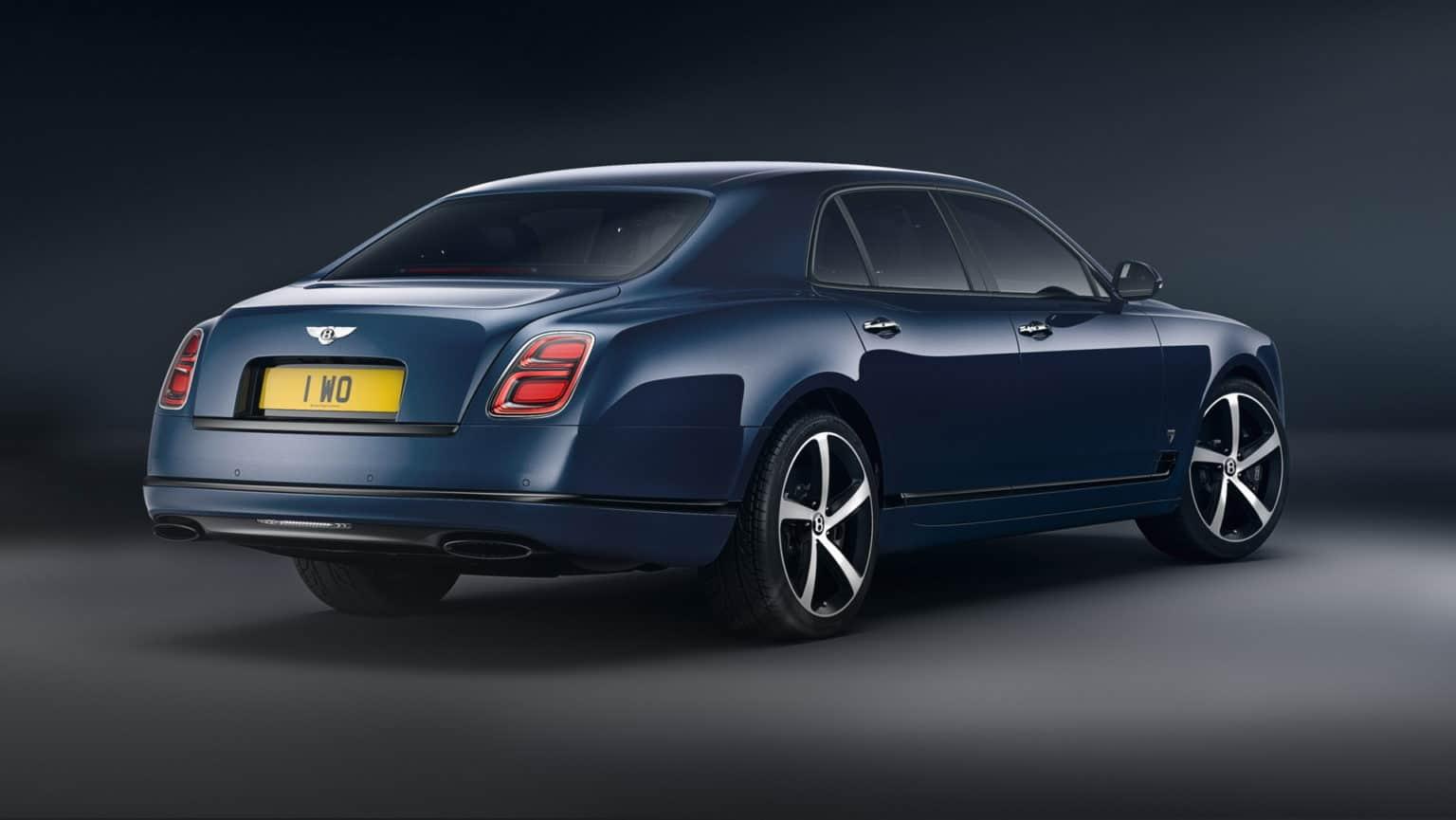 宾利慕尚即将停产,限量款车型发布30台