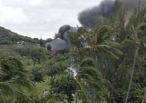 夏威夷枪击致2警察殉职,凶手遭房东驱赶后纵火,结果烧死自己