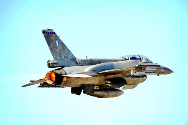 自相残杀吗?希腊已决心投重金升级F16,性能必须碾压土耳其同款