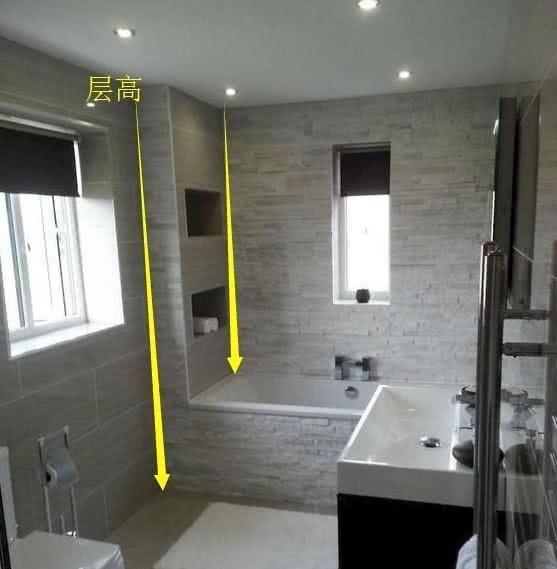 一楼邻居做下沉式浴缸,头回见卫生间也宽敞了,物业:这是偷面积